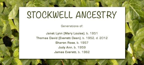 StockwellGenealogy