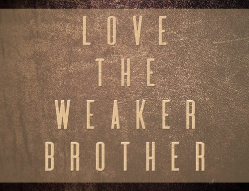 Love the Weaker Brother